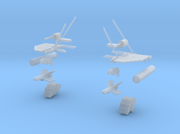 "Westland Wessex ""Commando"" Weapon Set (28 Rocket) in Smooth Fine Detail Plastic: 1:72"