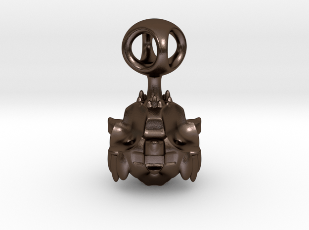 The Umbulurian Mothership for SLINGSHOT in Polished Bronze Steel