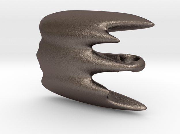 The incredible squid-fighter for SLINGSHOT in Polished Bronzed-Silver Steel