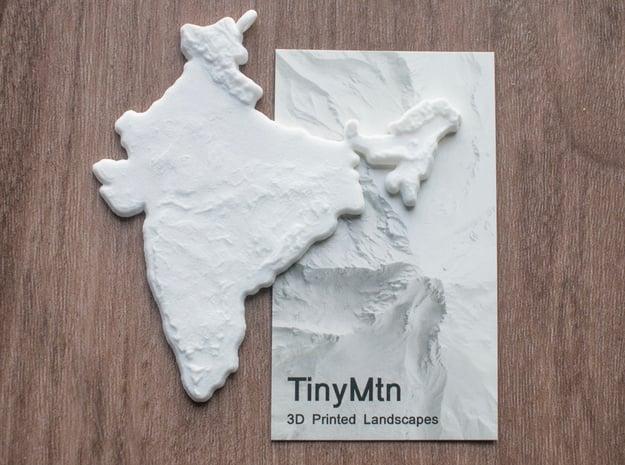 India Christmas Ornament in White Natural Versatile Plastic