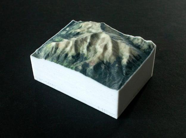 Mt. Elbert, Colorado, USA, 1:100000 Explorer in Full Color Sandstone