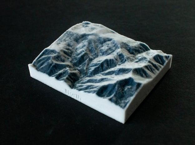 Powder Mountain, Utah, USA, 1:100000 in Full Color Sandstone