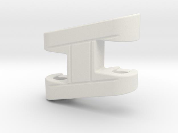 Armada Makeshift Wing R in White Natural Versatile Plastic