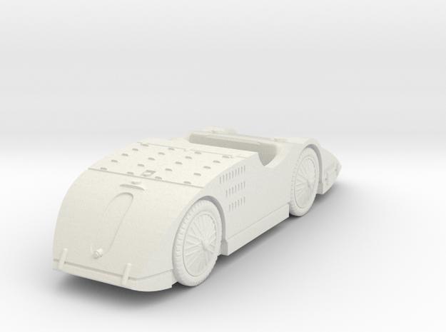1/72 Bugatti Type 32 Tank in White Natural Versatile Plastic