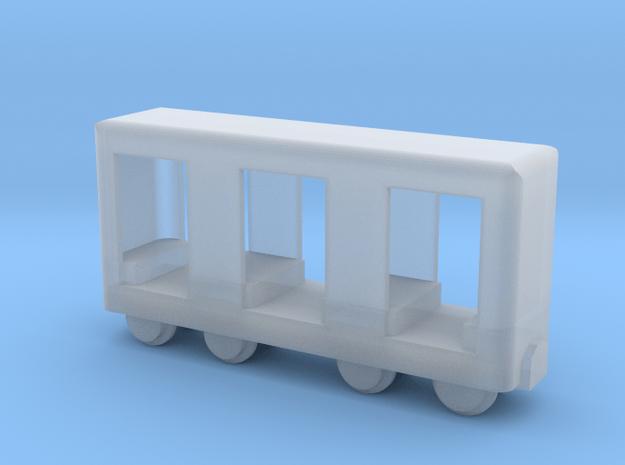 Grubenbahn Perseonenwagen V1 - TTf 1:120 in Smooth Fine Detail Plastic