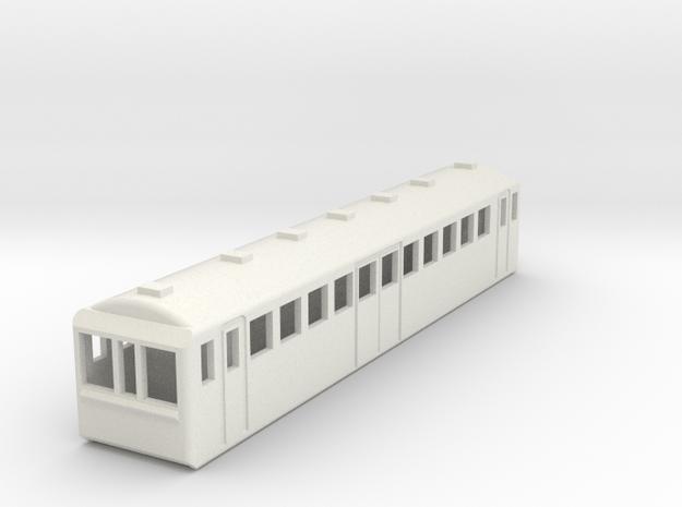 U-Bahn New York Spur N Scale 1:160 in White Natural Versatile Plastic