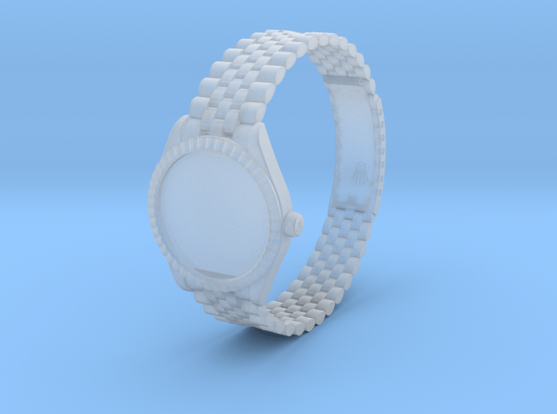 Rolex Datejust Watch 1:6 scale in Smooth Fine Detail Plastic