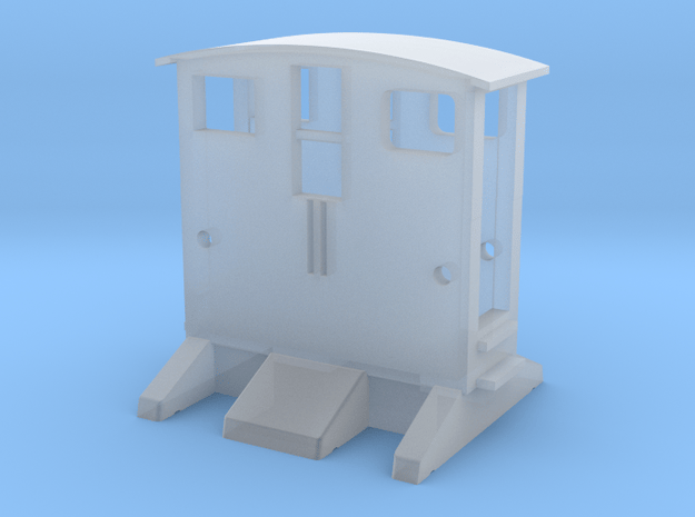 BREUER Rangiertraktor 1:160 Spur N Scale in Smooth Fine Detail Plastic