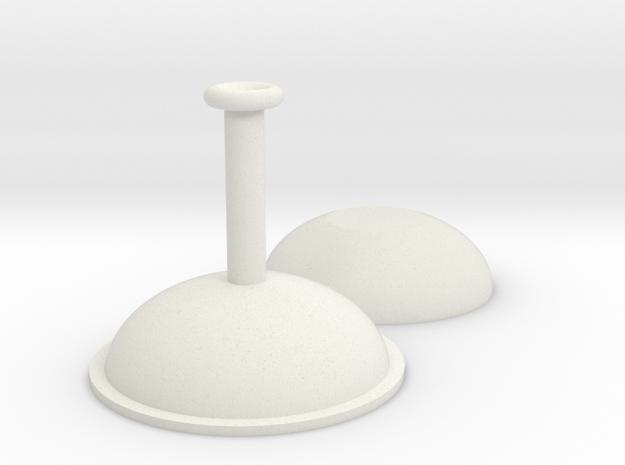 Braukessel 1:160 Spur N Scale in White Natural Versatile Plastic