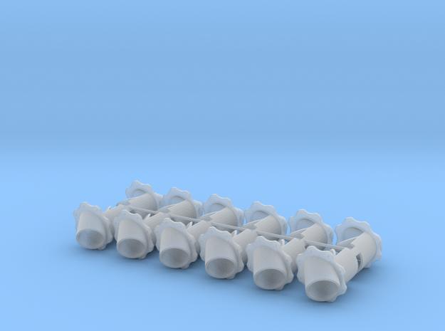 STRAIGHT FENDER DUMPS in Smooth Fine Detail Plastic
