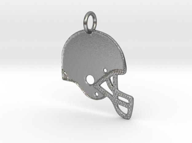 Football Fan in Natural Silver