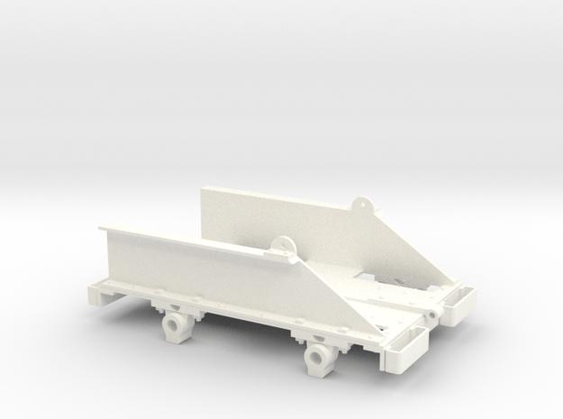 Ruston Bucyrus Tipper Chassis (SM32) in White Processed Versatile Plastic