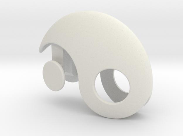 Yin Yang Gift box in White Natural Versatile Plastic