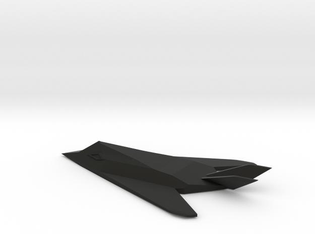 F-117 1I150 in Black Premium Versatile Plastic