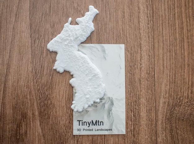 Korea Christmas Ornament in White Natural Versatile Plastic