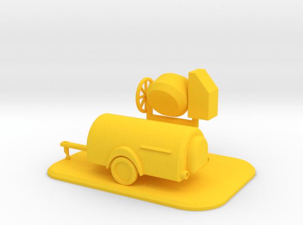 Baustellen-Set 1 Spur N Scale 1:160 in Yellow Processed Versatile Plastic