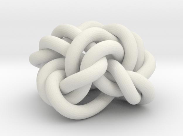 B&G Knot 21 in White Natural Versatile Plastic