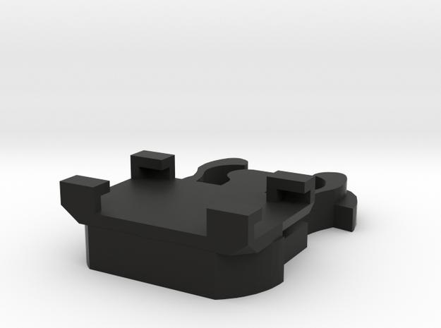 New! GoPro clip to Rexing V1P G3 & V1P Pro in Black Natural Versatile Plastic