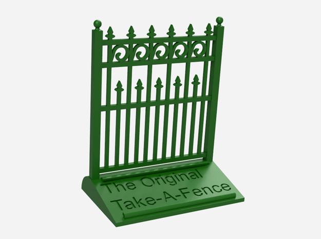 The Original Take-A-Fence: The Higher Than Thou in Green Processed Versatile Plastic