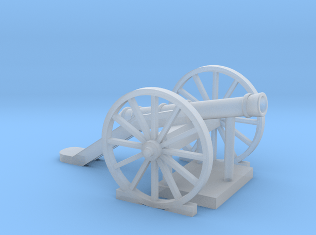 Cannon-1 (HO) in Smooth Fine Detail Plastic: 1:87 - HO