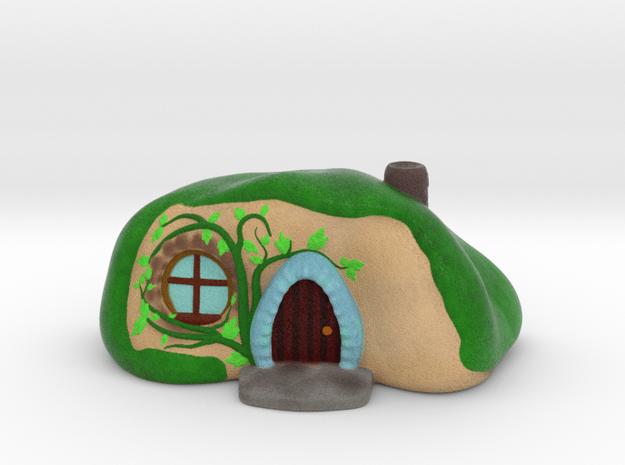 Hobbit Home in Natural Full Color Sandstone