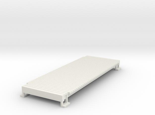 HOn3 tender floor in White Natural Versatile Plastic