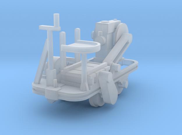 Schienenkuli Nr35 - 1:72 in Smooth Fine Detail Plastic