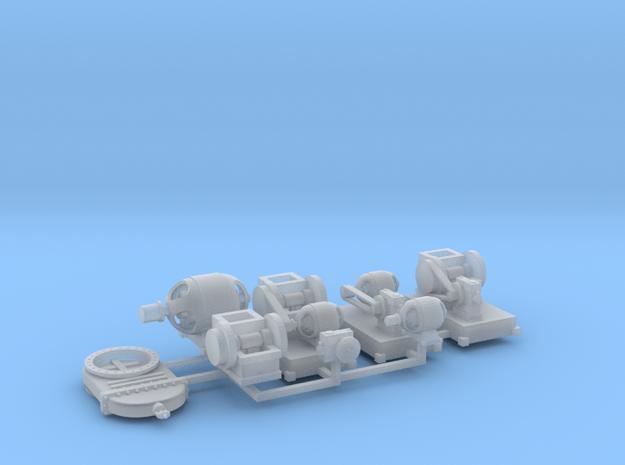 Maschinenset 1 TT 1:120 in Smooth Fine Detail Plastic