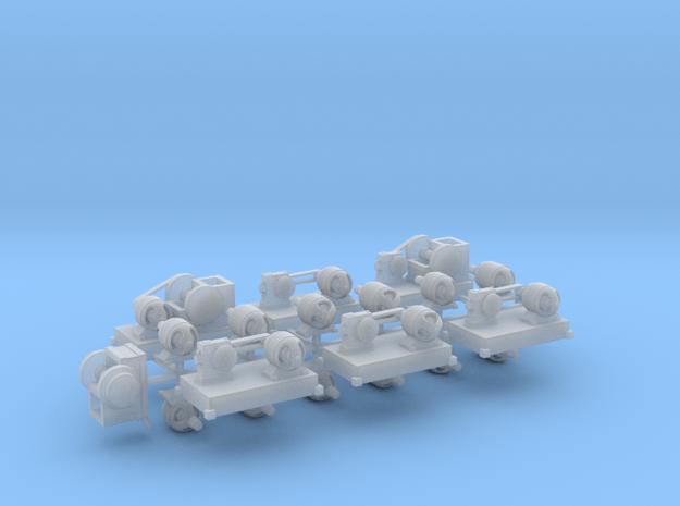 Maschinenset 2 TT 1:120 in Smooth Fine Detail Plastic