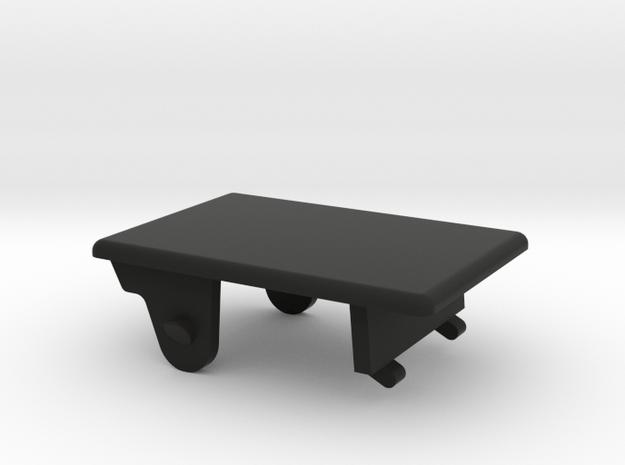 Lancia Delta 1 roof handle cover in Black Natural Versatile Plastic