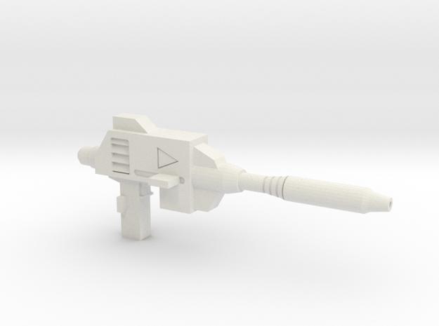 MP-39 Sansutri Gun in White Natural Versatile Plastic