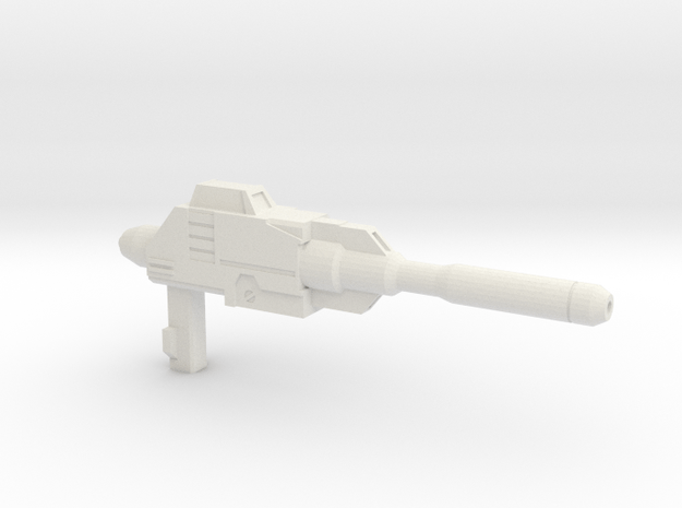 MP-12/14 Ranboru Gun in White Natural Versatile Plastic