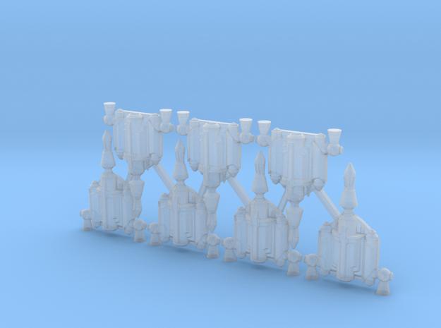 Son Jetpacks (x7) in Smoothest Fine Detail Plastic