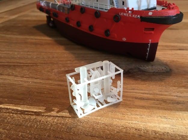 Lewek Kea, Details 2 of 2 (1:200, RC) in Smooth Fine Detail Plastic