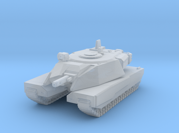 EDF Medium Tank in Smooth Fine Detail Plastic