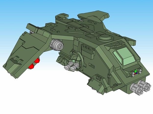 3mm FireTurkey Gunship (4pcs)