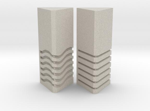 Element Stones Set 2 in Natural Sandstone