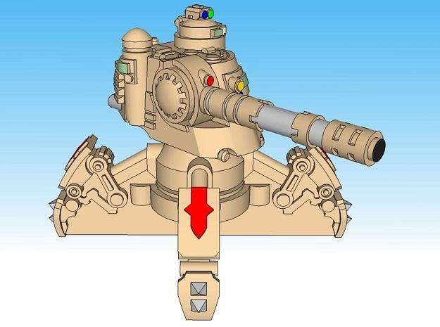 3mm Sandwalker Sci-Fi Tanks (8pcs)