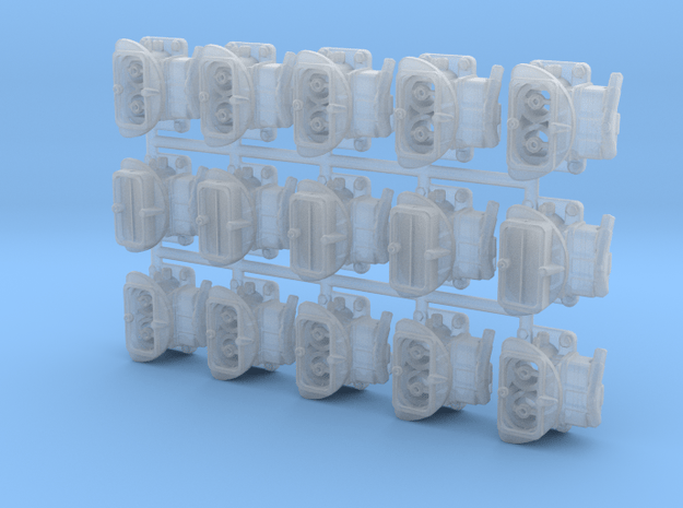 3 - 2 BBLs 1/24 x5 in Smooth Fine Detail Plastic