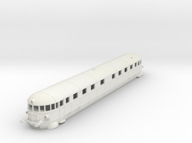 La Littorina Fiat - Fiat Railcar Wagon - HO - 1:87 in White Natural Versatile Plastic