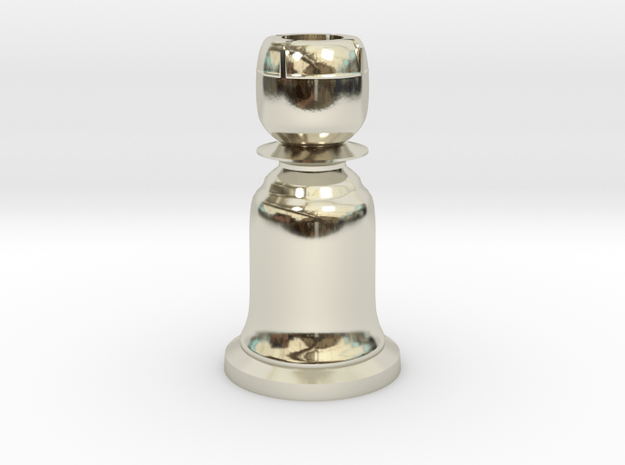 Rook White - Bell Series in 14k White Gold