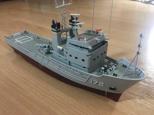 Apache fleet tug, Hull (1:200, RC) in White Natural Versatile Plastic