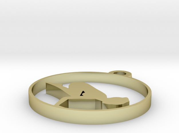 yoga2 in 18k Gold Plated Brass