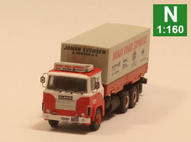 Scania 141 chassis Sleeper cab (1:160 scale)