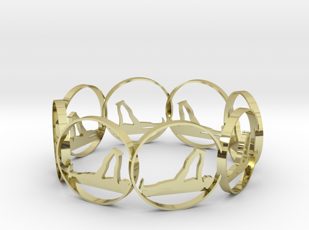 yoga12 in 18k Gold Plated Brass