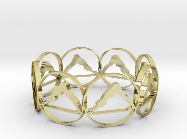 85yoga in 18k Gold Plated Brass