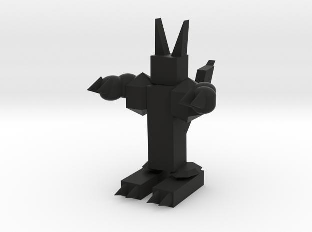Robot in Black Natural Versatile Plastic