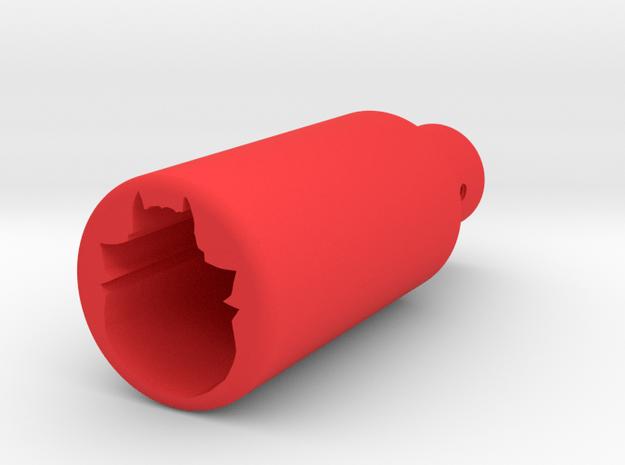 Deranged amplifier in Red Processed Versatile Plastic