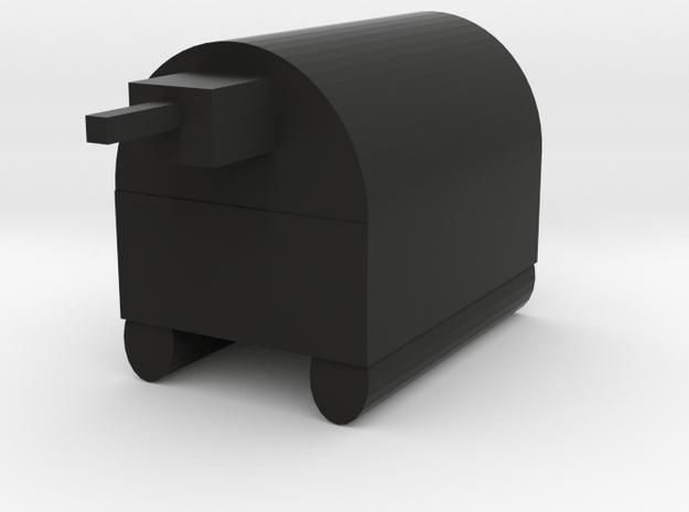 Tank in Black Natural Versatile Plastic