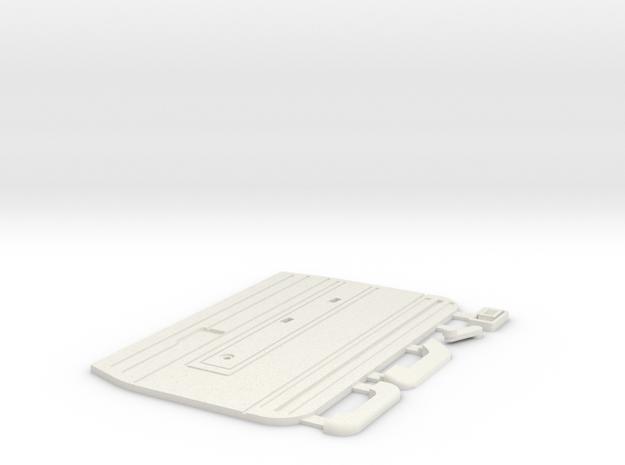 Tamiya Bruiser / HG P407 TOYOTA Hilux door panel R in White Natural Versatile Plastic